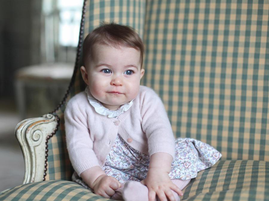 Princesa Charlotte, 6 meses