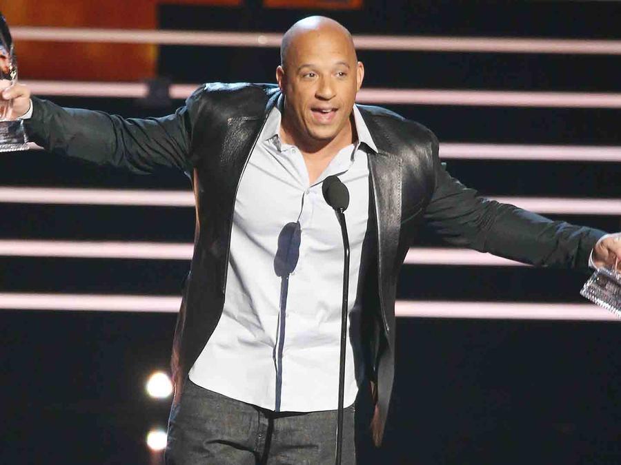 Vin Diesel en People's Choice Awards 2016