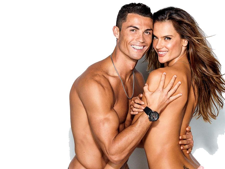 Cristiano Ronaldo y Alessandra Ambrosio 2016