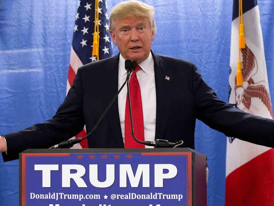 Donald Trump en Iowa