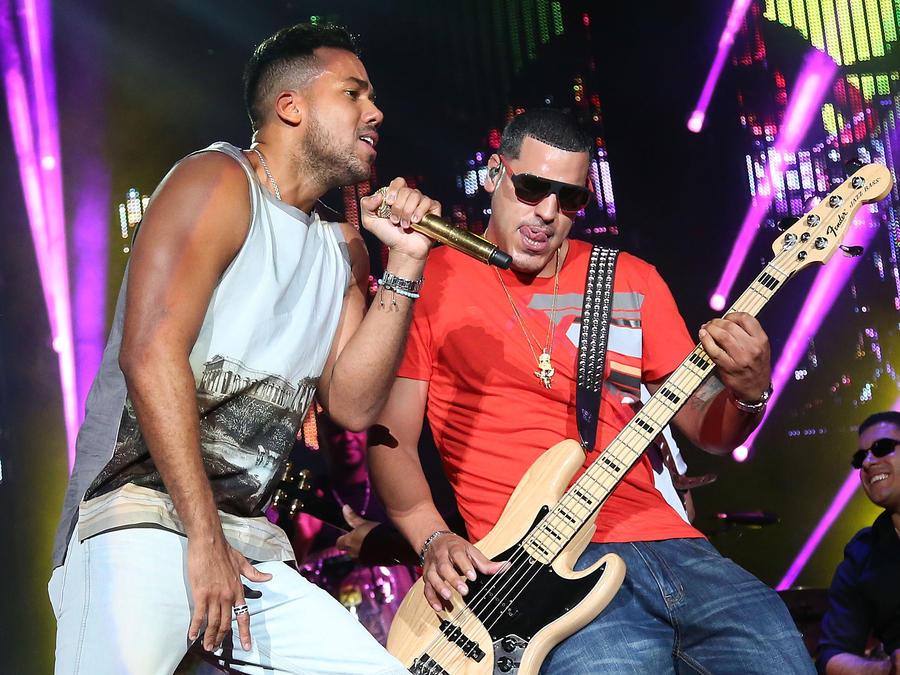 Romeo Santos en concierto en 2015