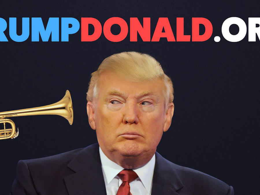 Trump Donald sitio web