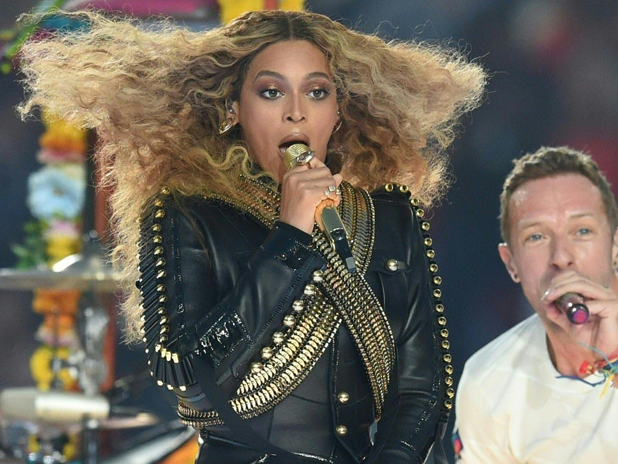 Beyonce en el Super Bowl 2016
