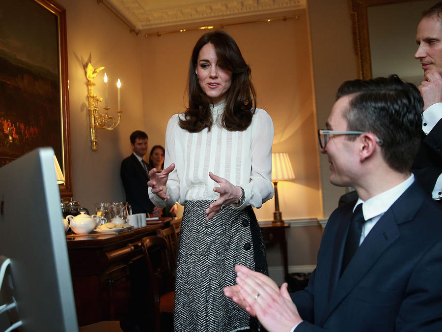 Kate Middleton habla en Huffington Post