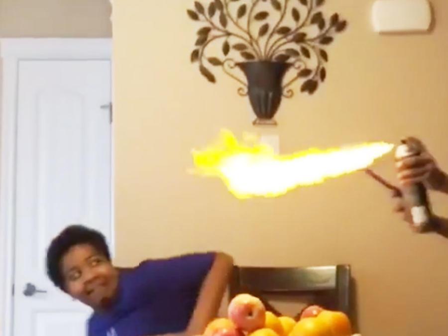 #FireSprayChallenge