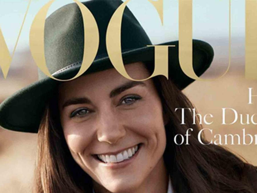 Kate Middleton en la portada de 'Vogue'
