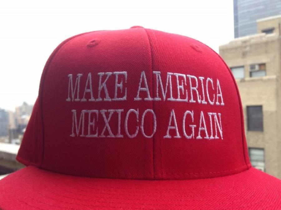 La gorra para la que Jerónimo Saldaña está recaudando fondos