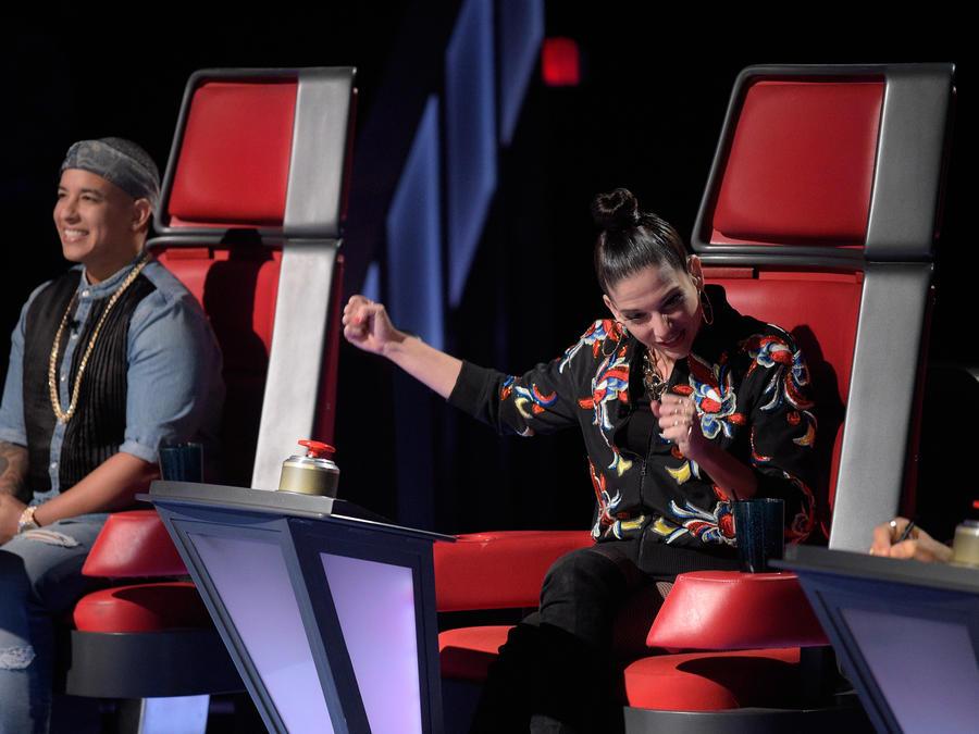 Natalia Jiménez Daddy Yankee audición a ciegas La Voz Kids 2016