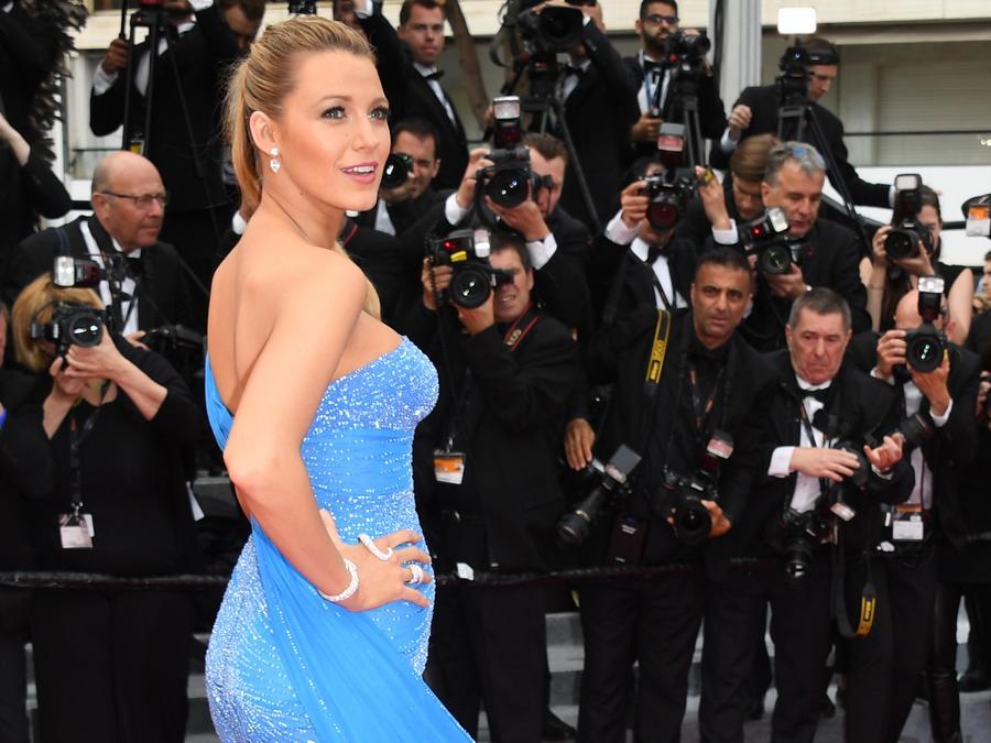 Blake Lively en la alfombra roja de 'The BFG' en Cannes 2016