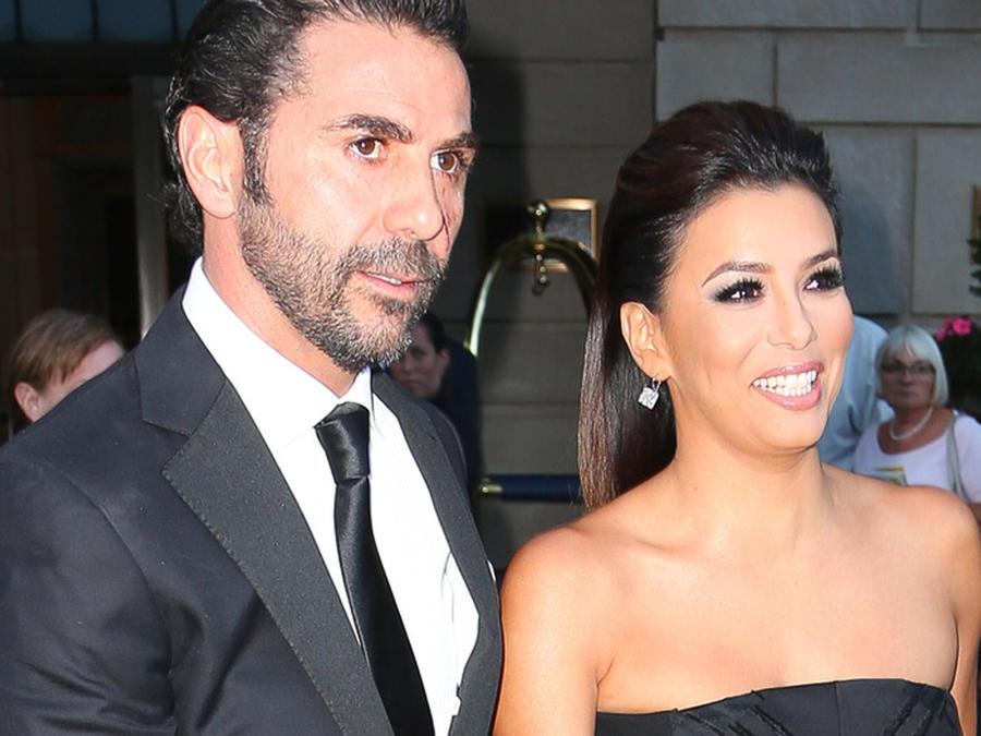 Pepe Baston y Eva Longoria