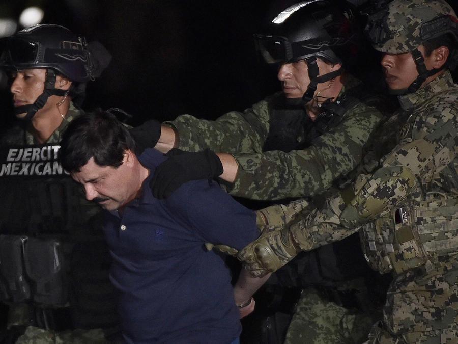 Traslado El Chapo
