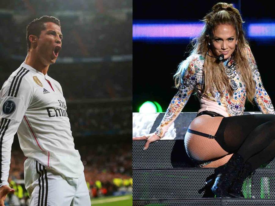 Cristiano Ronaldo y JLo RedOne