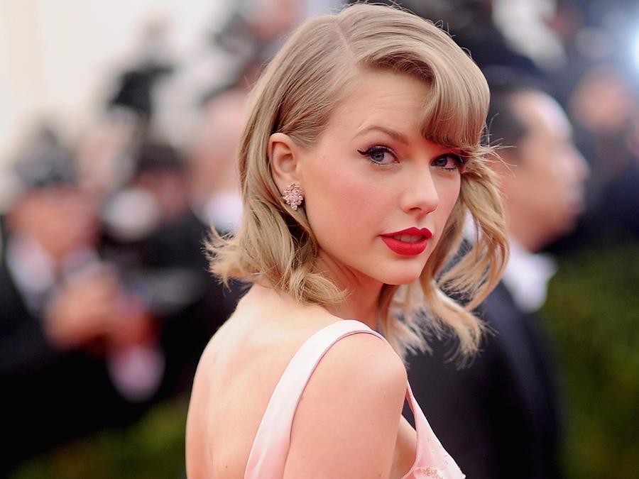 Taylor Swift en la Costume Institute Gala en el Metropolitan Museum of Art