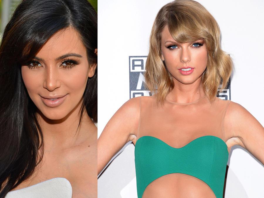 "Kim Kardashian revela en Snapchat video de Kanye West y Taylor Swift discutiendo la letra de ""Famous"""