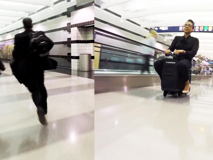 Modobag, maleta motorizada