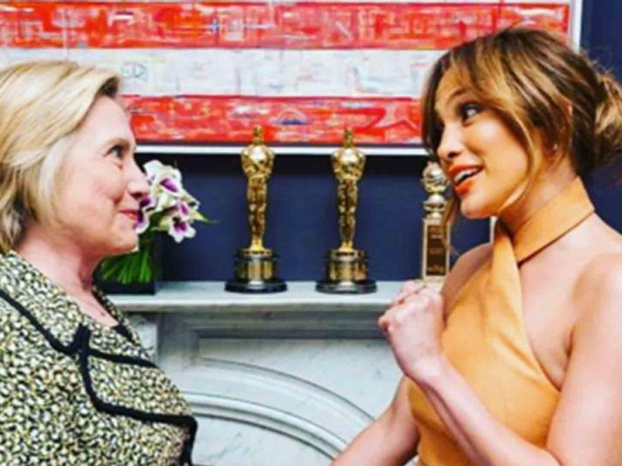Jennifer Lopez celebra la aceptación de Hillary Clinton como candidata