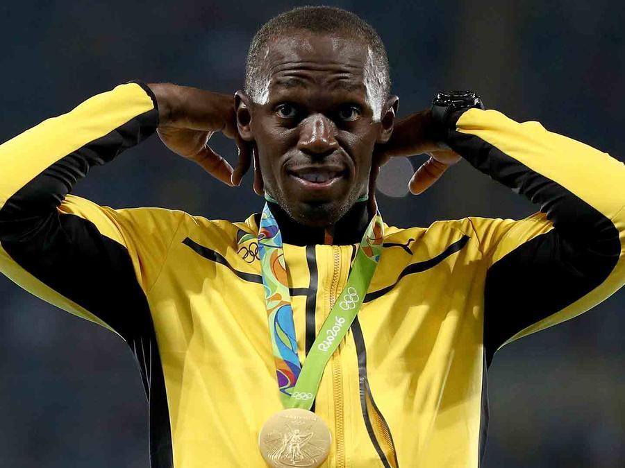 Usain Bolt en Río de Janeiro en Brasil
