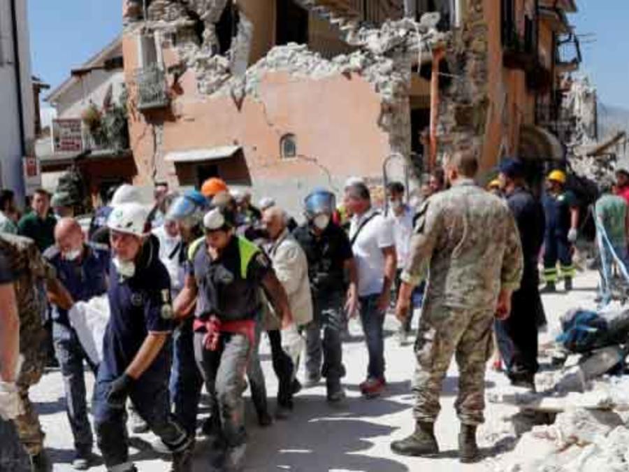 terremoto en italia centro