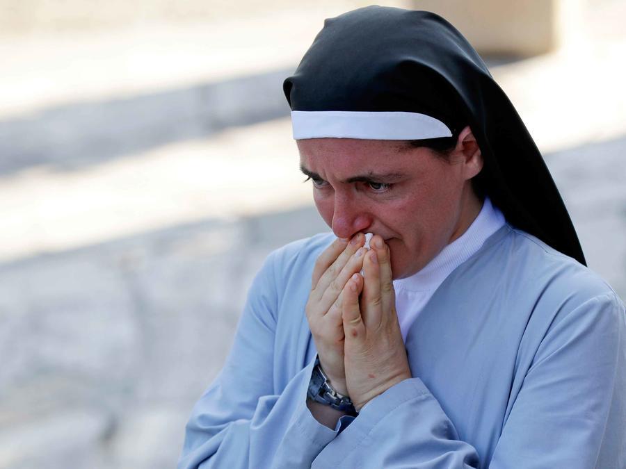 monja que se salvo de sismo en italia