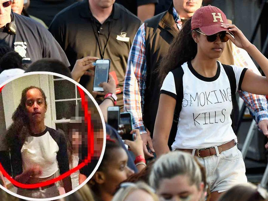Malia Obama en Budweiser Made in America Festival 2016 en Filadelfia