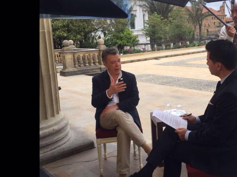 presidente colombiano  on luis carlos velez