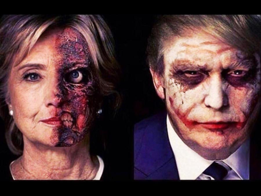 Memes Trump y Hillary
