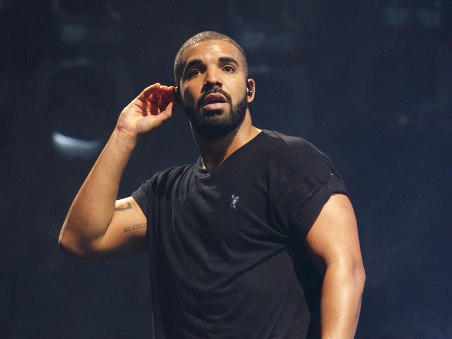 Drake en una presentación en London
