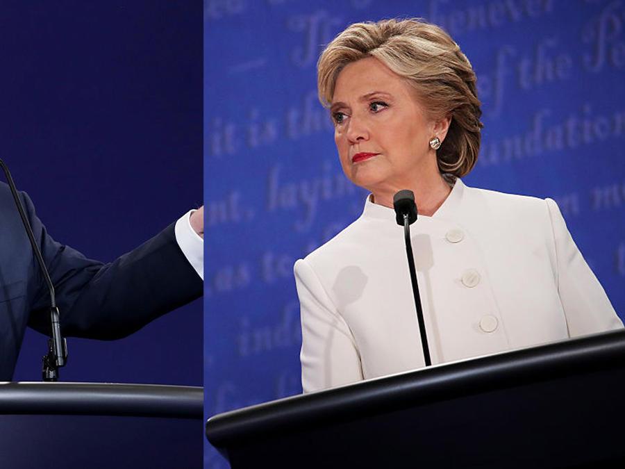Donald Trump y Hillary Clinton se enfrentaron en un tercer debate