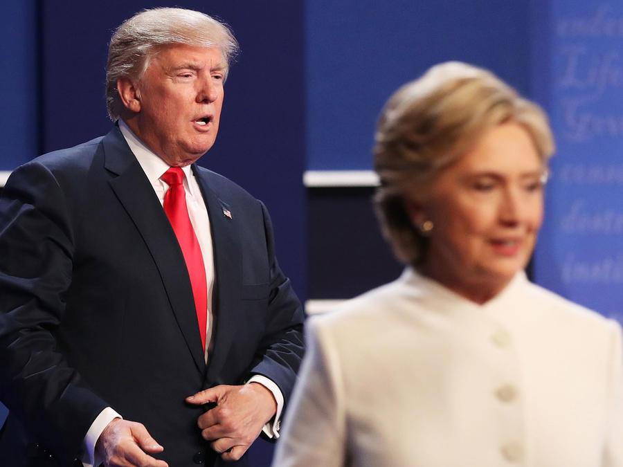 Hillary Clinton y Donald Trump