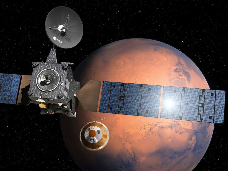 mision a marte de agencia espacial europea