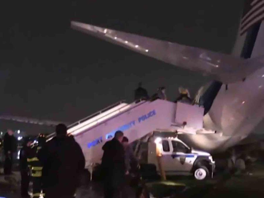 Avión de Pence