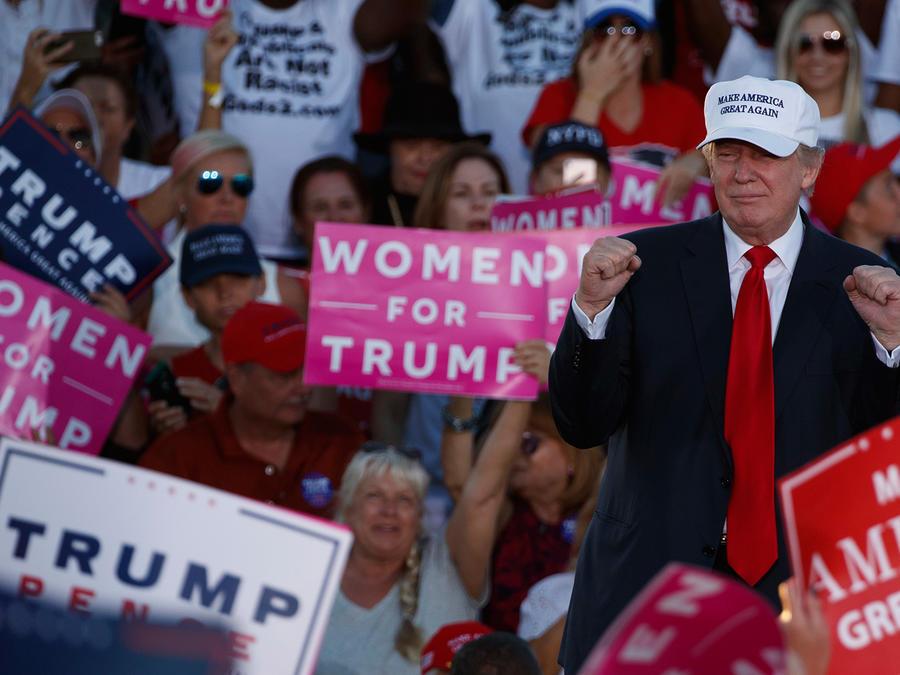 Partidarios de Trump