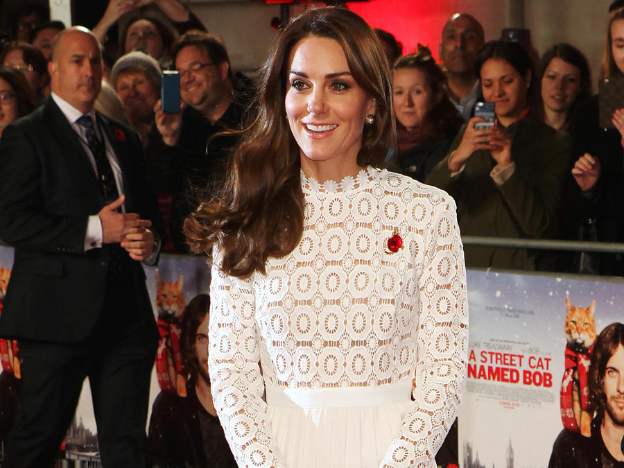 Kate Middleton en la premiere de una película en Londres