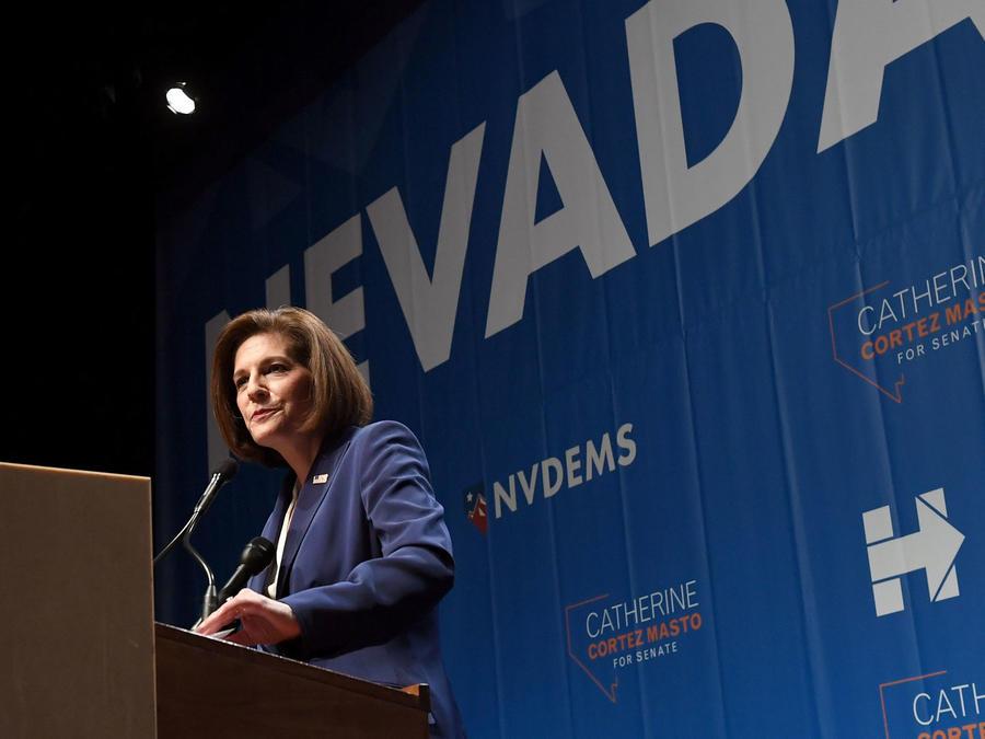 Catherine Cortez Masto habla tras ganar su lugar en el Senado de EEUU, por el estado de Nevada