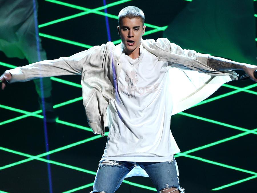 Justin Bieber en los Billboard Music Awards