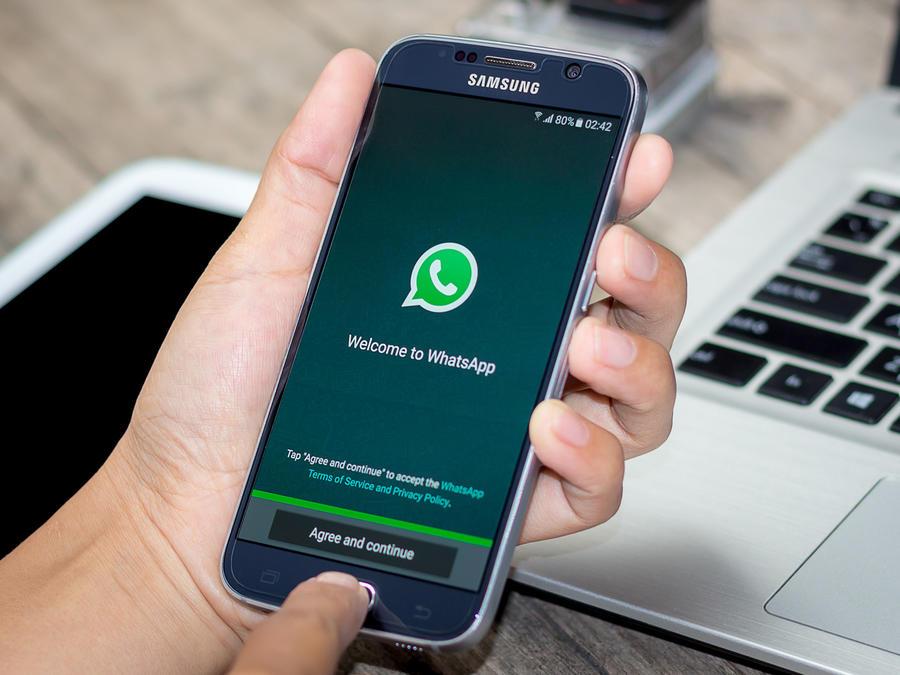 WhatsApp en Samsung Galaxy