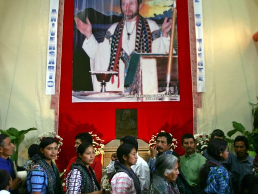 stanley rother, cura asesinado en guatemala