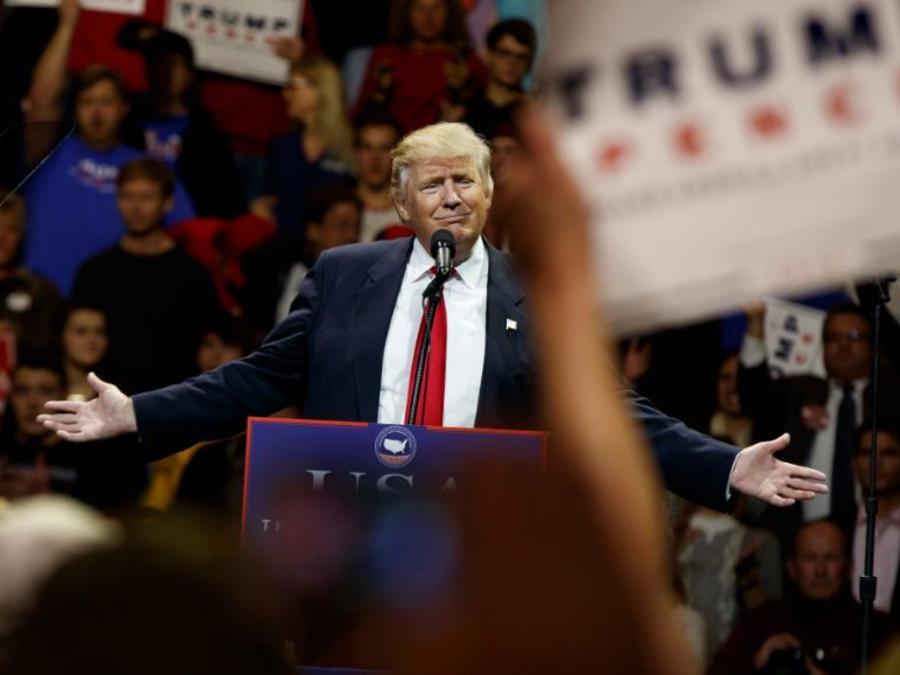 Trump habla en Cincinati
