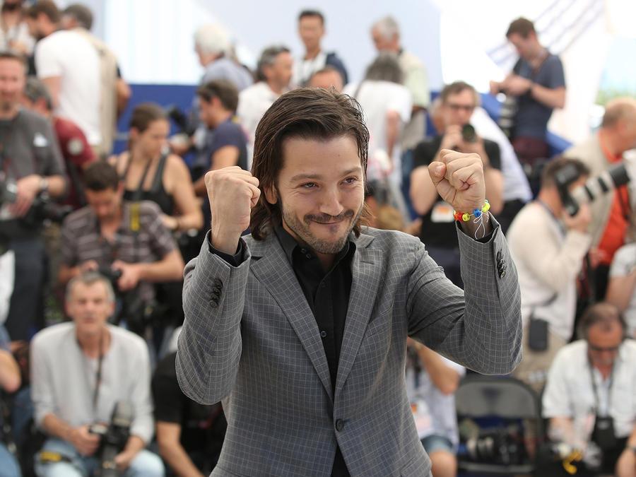 El actor mexicano Diego Luna en el Festival de Cannes en mayo del 2016