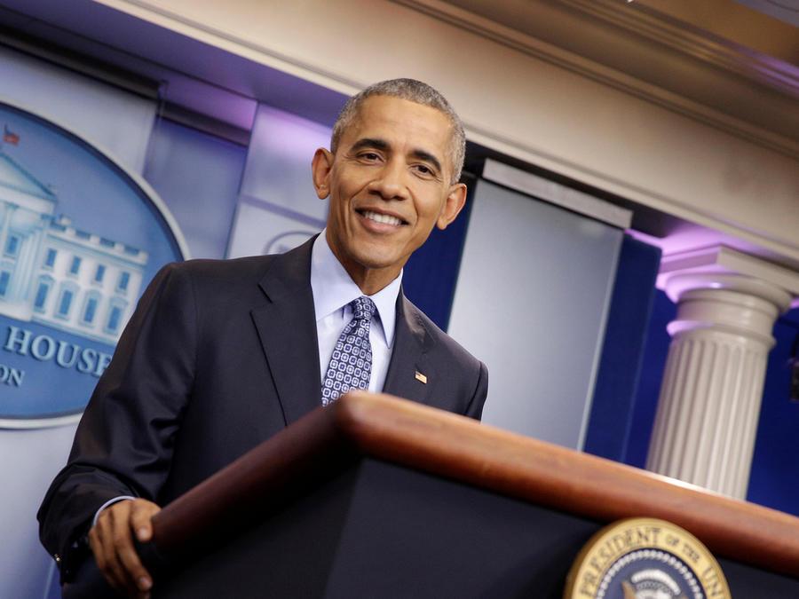 El presidente Obama durante su última conferencia de prensa