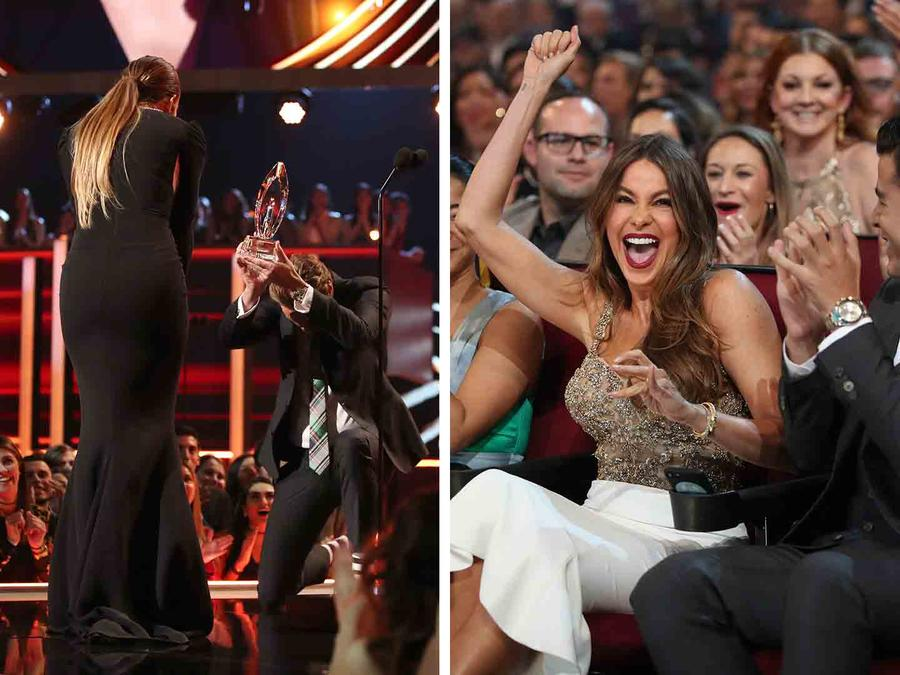 People's Choice Awards 2017: Jennifer Lopez and Sofía Vergara Owned the Night