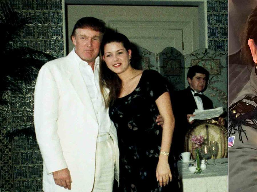 Alicia Machado y Donald Trump