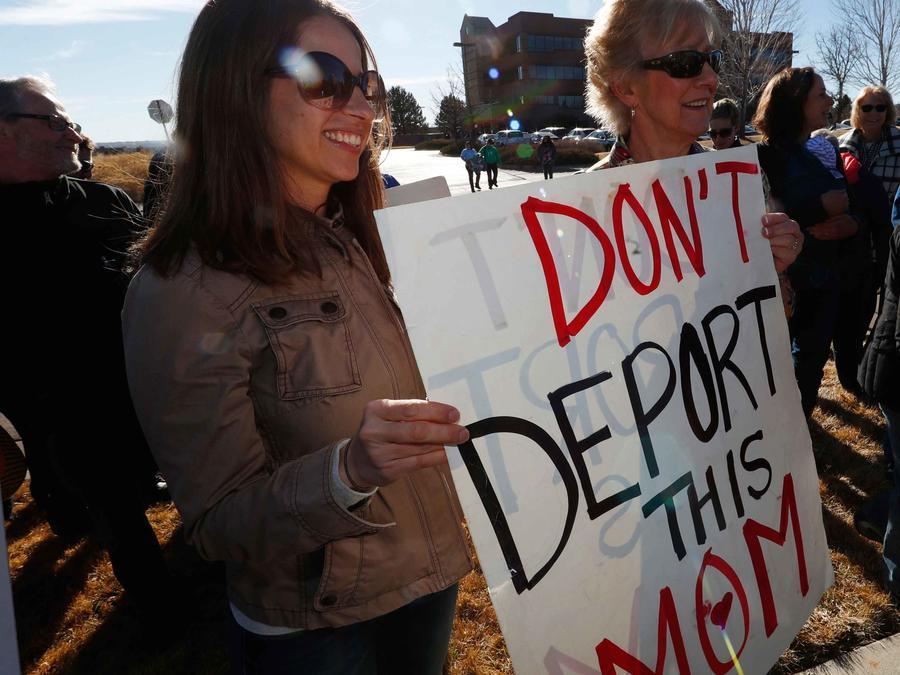 Protestas ante deportaciones en EEUU