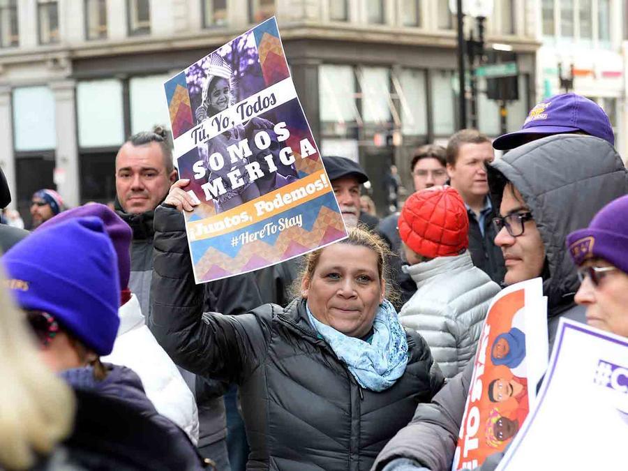 Marcha de inmigrantes