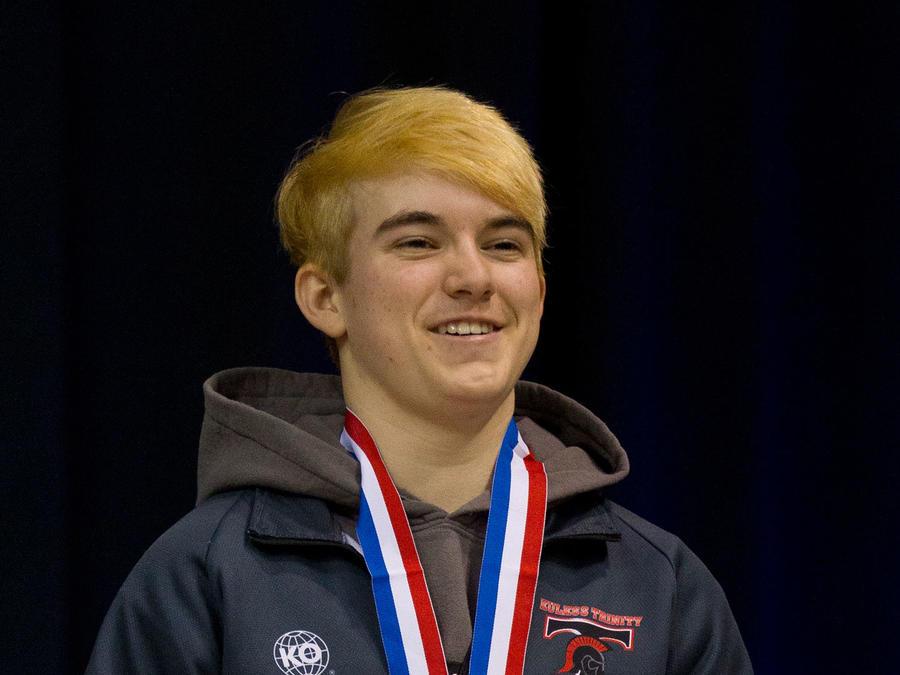 Mack Beggs, joven transgénero que ganó competencia de lucha