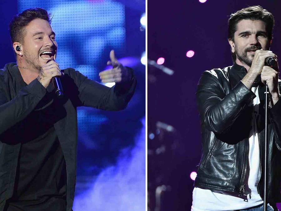 J Balvin and Juanes