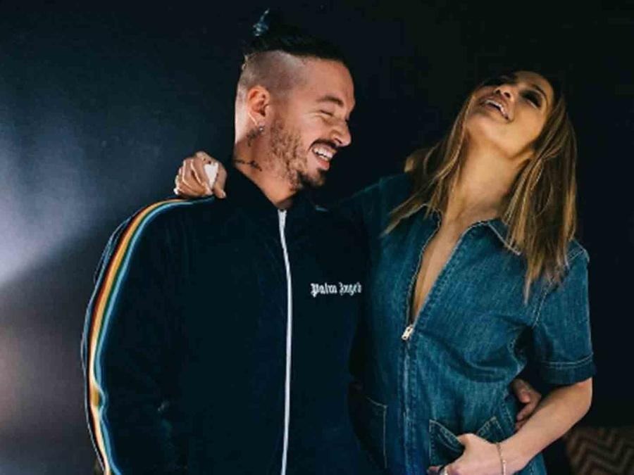 JLo and J Balvin