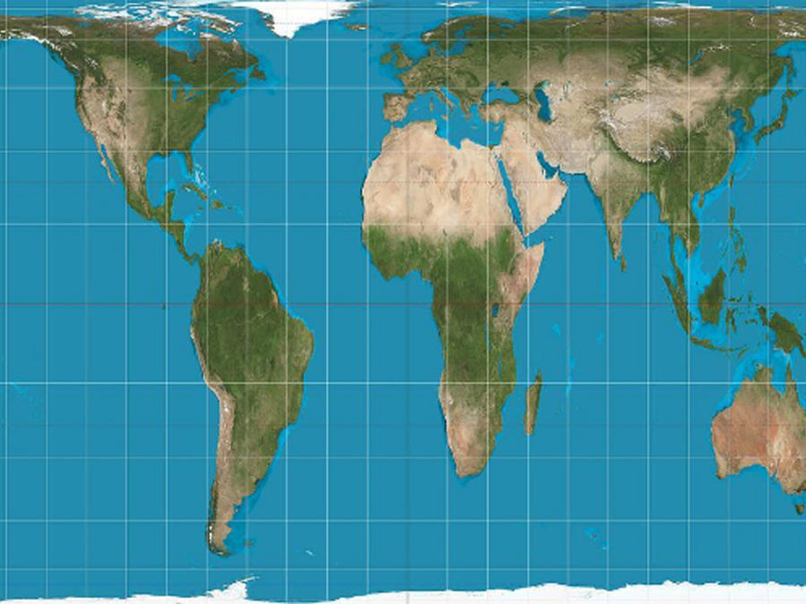 Nuevo mapa del mundo