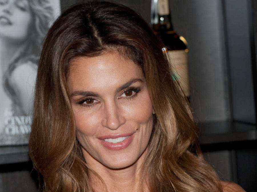 Cindy Crawford en Casamingos Tequila y Cindy Crawford book launch party