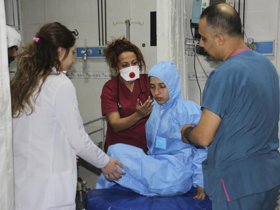 Estados Unidos ataca a Siria después del ataque químico